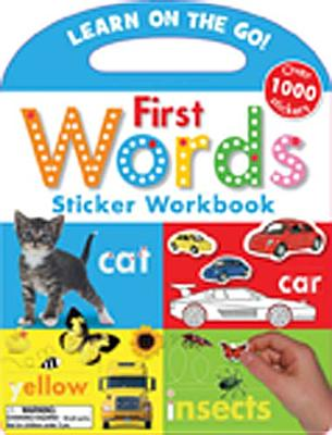 First Words Sticker Workbook By Creese, Sarah